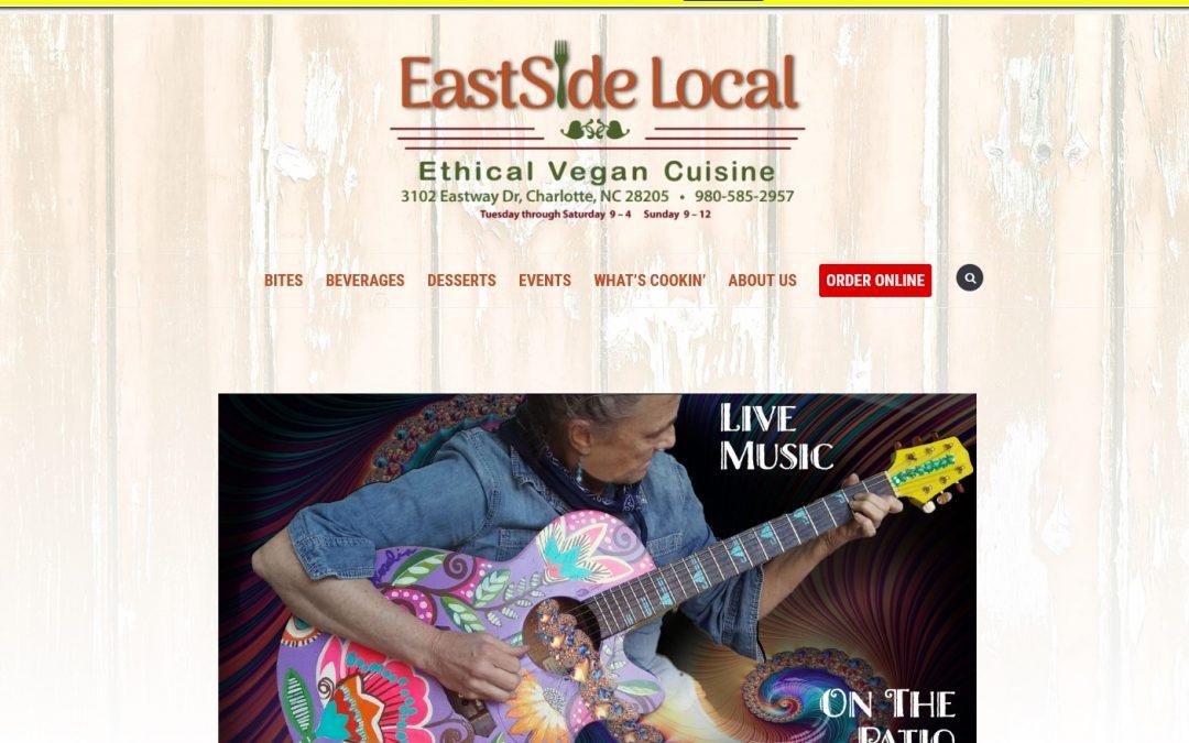 Web Build – EastSide Local Eatery